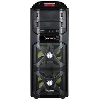 Gigabyte GZ-G1 Plus Midi Tower ohne Netzteil schwarz