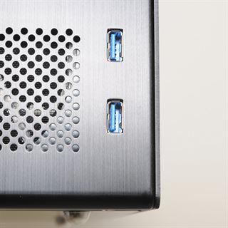 Lian Li PC-Q16A Wuerfel 300 Watt silber
