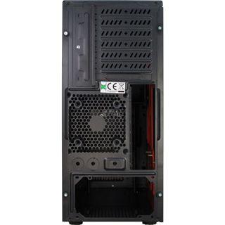 Inter-Tech Eterno H3 Octagon RTX Midi Tower ohne Netzteil schwarz