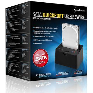 Sharkoon SATA Dockingstation Quick Port U3 FireWire