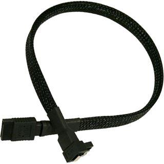 Nanoxia 30 cm schwarzes Kabel für SATA 3.0 (NXS6G30)