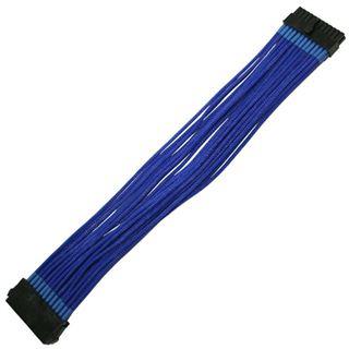 Nanoxia 30 cm blaues Verlängerungskabel für 24-Pin ATX (NX24V3EB)