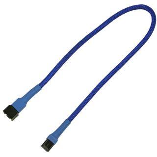 Nanoxia 30 cm blaues Verlängerungskabel für 3-Pin Molex (NX3PV30B)