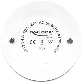 Delock Lightning Silber 3fach LED Warmweiß GX5.3 B