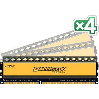 32GB Crucial Ballistix Tactical DDR3-1600 DIMM CL8 Quad Kit