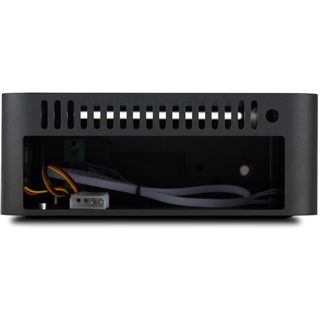 Streacom F1CB ITX Tower ohne Netzteil schwarz