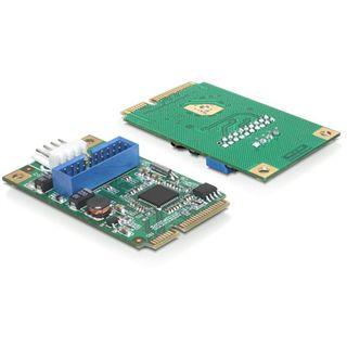 Delock 95234 2 Port PCIe 2.0 Mini Card retail