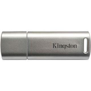 16 GB Kingston Data Traveler Locker+ G2 silber USB 2.0