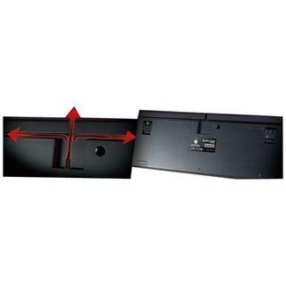 CM Storm Storm Quickfire Rapid PS/2 & USB Deutsch schwarz (kabelgebunden)