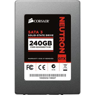 """240GB Corsair Neutron Series GTX 2.5"""" (6.4cm) SATA 6Gb/s MLC Toggle (CSSD-N240GBGTX-BK)"""