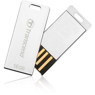 32 GB Transcend JetFlash T3S silber USB 2.0