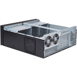Silverstone La Scala LC-10B-E Desktop ohne Netzteil schwarz