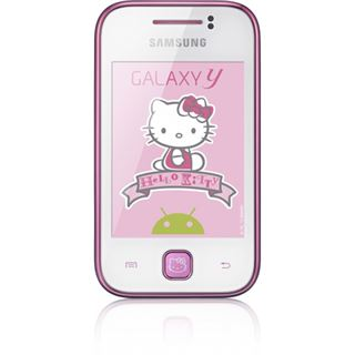 Samsung Galaxy Y S5360 Hello Kitty Edition 150 MB weiß