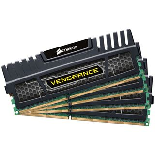 16GB Corsair Vengeance Black DDR3-2400 DIMM CL9 Quad Kit