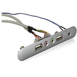 Inter-Tech Audio USB Front Panel für Inter-Tech Q-5 (88885212)