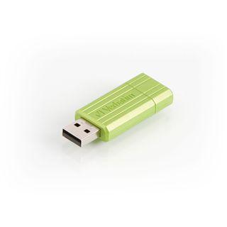 16 GB Verbatim PinStripe gruen USB 2.0