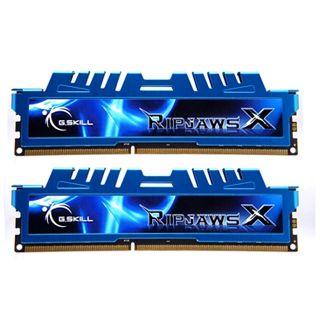 16GB G.Skill RipJawsX DDR3-1866 DIMM CL9 Dual Kit