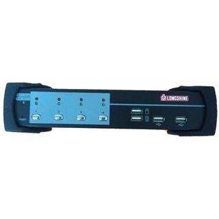 Longshine LCS-K702 4-fach Desktop KVM-Switch