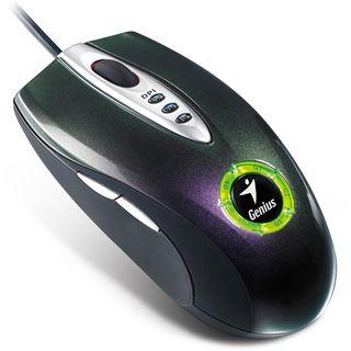 Genius Maus Navigator 535 black USB Laser Gaming Maus