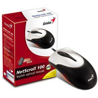 Genius NetScroll 100 USB silber (kabelgebunden)