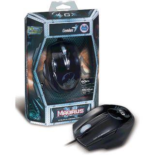 Genius Maurus FPS professional gaming mouse USB schwarz (kabelgebunden)
