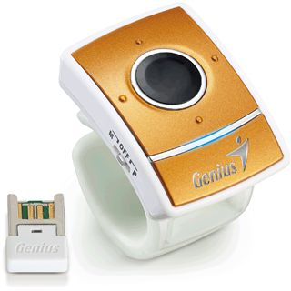 Genius Ring Maus USB gold (kabellos)