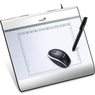 Genius MousePen i608 200x150 mm USB silber
