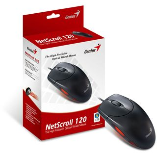 Genius NetScroll 120 USB schwarz (kabelgebunden)