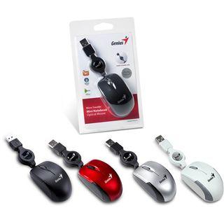 Genius Micro Traveler USB silber (kabelgebunden)