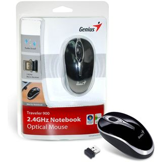 Genius Traveler 900 USB schwarz (kabellos)