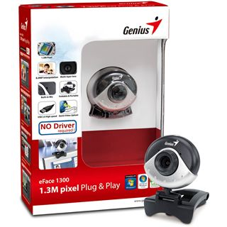 Genius eFace 1300 Webcam USB