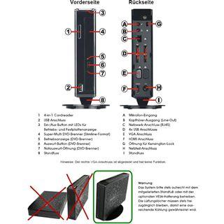 Terra PC-Nettop 3100V2 Lüfterlos i525 FreeDOS