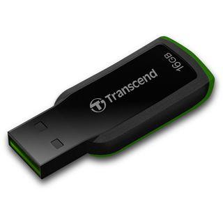 16 GB Transcend JetFlash 360 schwarz/gruen USB 2.0