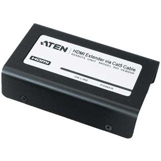 ATEN Technology HDMI Extender Over Cat.5e Adapter für Monitore (VE800R-AT-G)