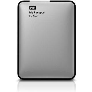 "500GB WD My Passport for MAC WDBGCH5000ASL 2.5"" (6.4cm) USB 3. silber"