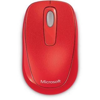 Microsoft Mouse 1000 USB rot (kabellos)