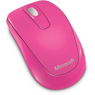 Microsoft Mouse 1000 USB pink (kabellos)