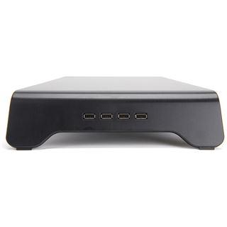 Zalman DS1000 Aluminum Monitor-Standfuß - schwarz