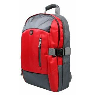 "Port Monza Backpack Red Tasche bis 15,6"" (39,62cm)"
