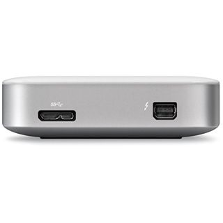 """1000GB Buffalo MiniStation HD-PA1.0TU3-EU 2.5"""" (6.4cm) USB 3.0/Thunderbolt weiss"""