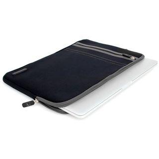 """CoolBananas Neopren Tasche RainSuitStripes Schwarz für MacBookPro15""""(38,1cm)"""