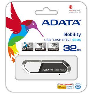 32 GB ADATA Sport Series S805 rot/grau USB 2.0