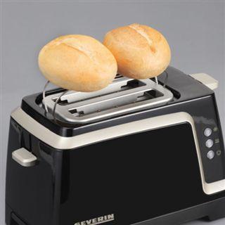 Severin Automatik-Toaster 820W AT 2223 braun-titan
