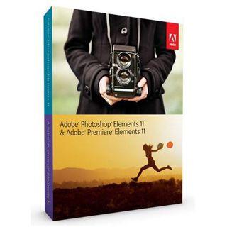 Adobe Photoshop Elements 11.0 und Premiere Elements 11.0 32/64 Bit Deutsch Grafik Vollversion PC/Mac (DVD)