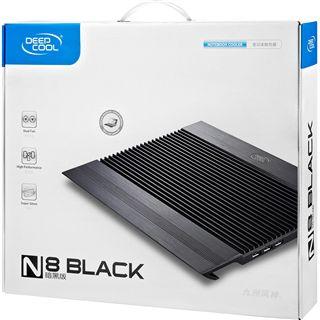Deepcool Notebook Kühler N8 BLACK, schwarz