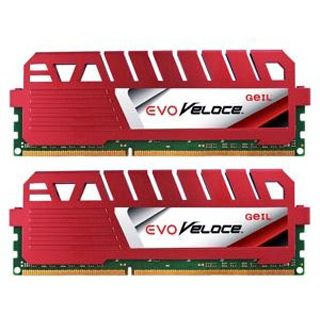 16GB GeIL EVO Veloce Hot Rod Red DDR3-1333 DIMM CL9 Dual Kit