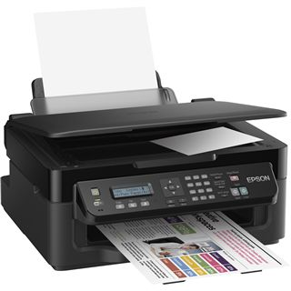Epson WorkForce WF-2510WF Tinte Drucken/Scannen/Kopieren/Faxen USB 2.0/WLAN