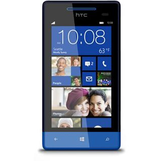 HTC Windows Phone 8S 4 GB blau