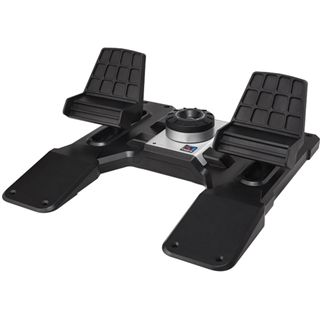 Saitek Pro Flight Cessna Rudder Pedals USB schwarz PC