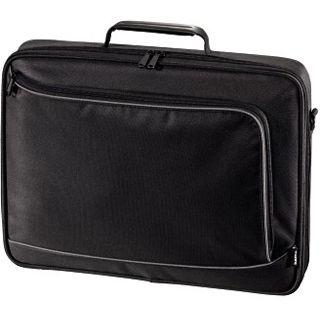"""Hama Notebook-Tasche Sportsline Bordeaux, bis 17,3"""" (43,94cm), Schwarz"""